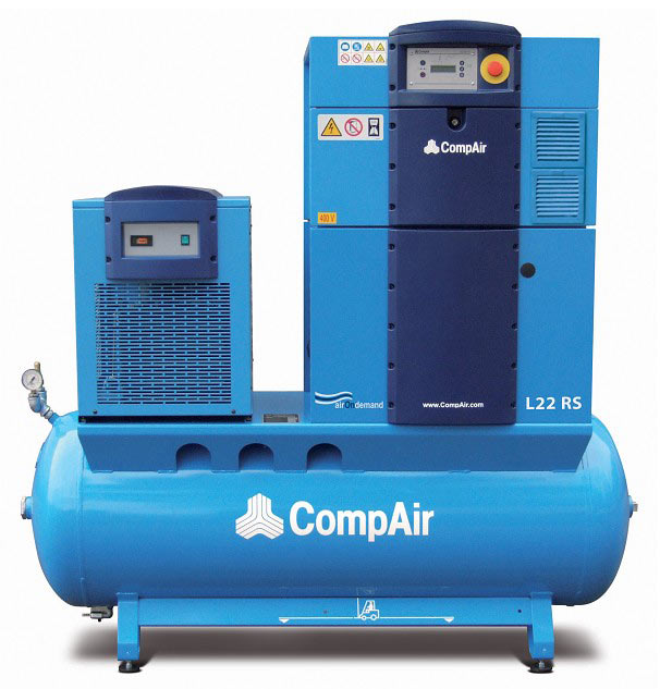 compair l07 l22rs airstation rh jjairsystems co uk CompAir Leroi Wood Industries Air Compressor