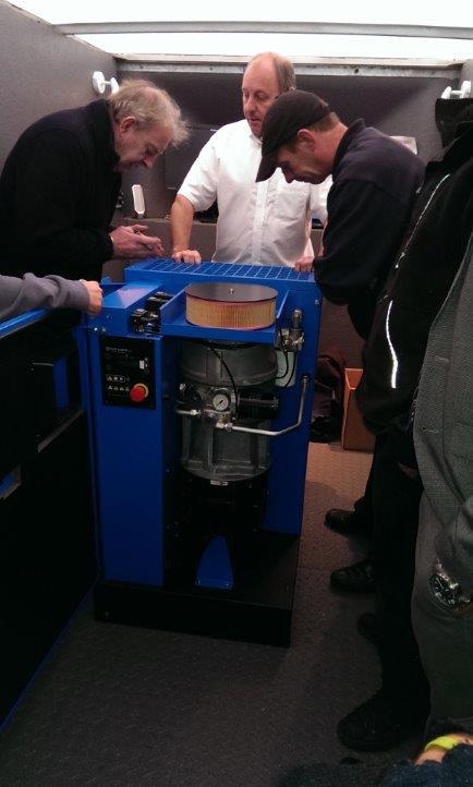 Hydrovane Hr Air Compressor Launch