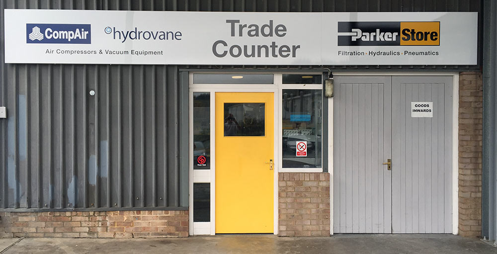 J&J Air Systems Trade Counter Signage