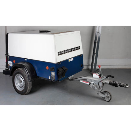 Compair C42 Portable Air Compressor White