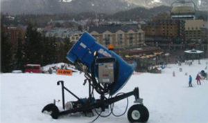 Hydrovane Snow Canon