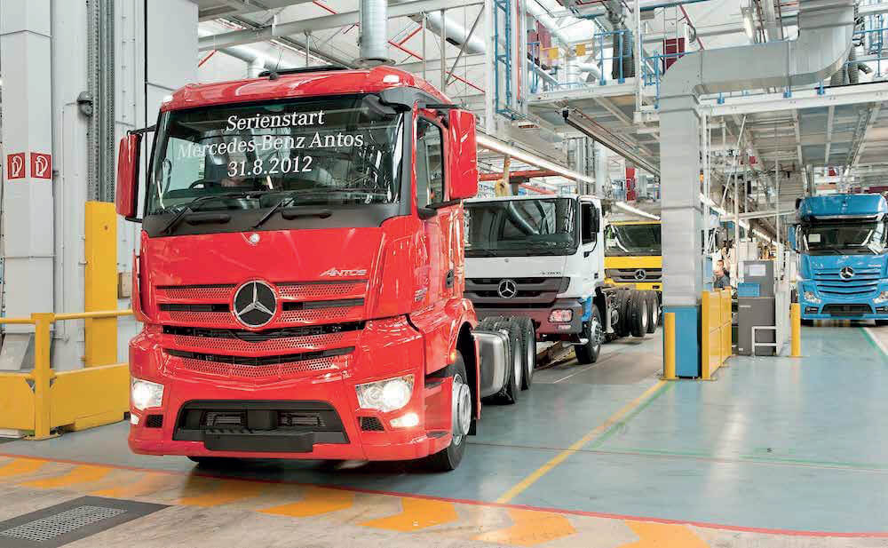 Mercedes Benz uses Quantima compressors