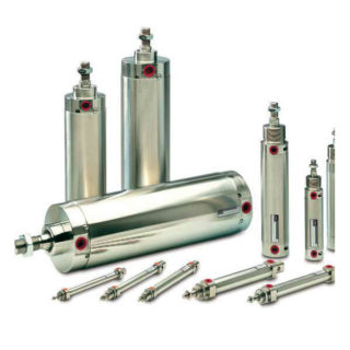 Parker P1S Stainless Steel Air Cylinders