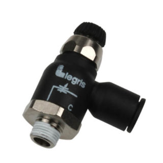 Legris 7067 Compact Bi Flow Regulator