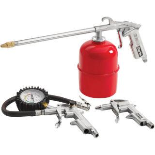 Clarke Kit 600 - 3 Piece Air Tool Kit