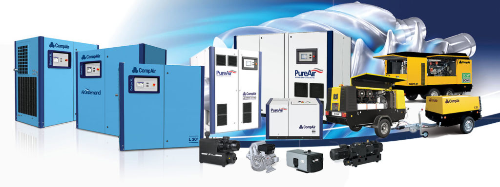 Compair Air Compressors and Systems