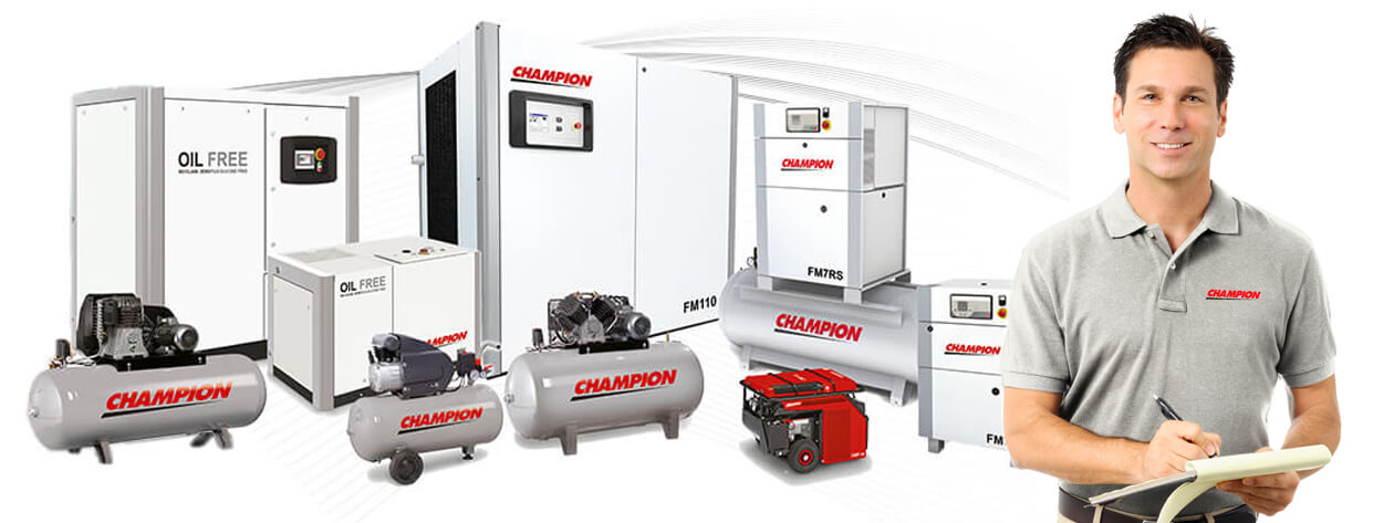 Champion Air Compressors and Air Systems