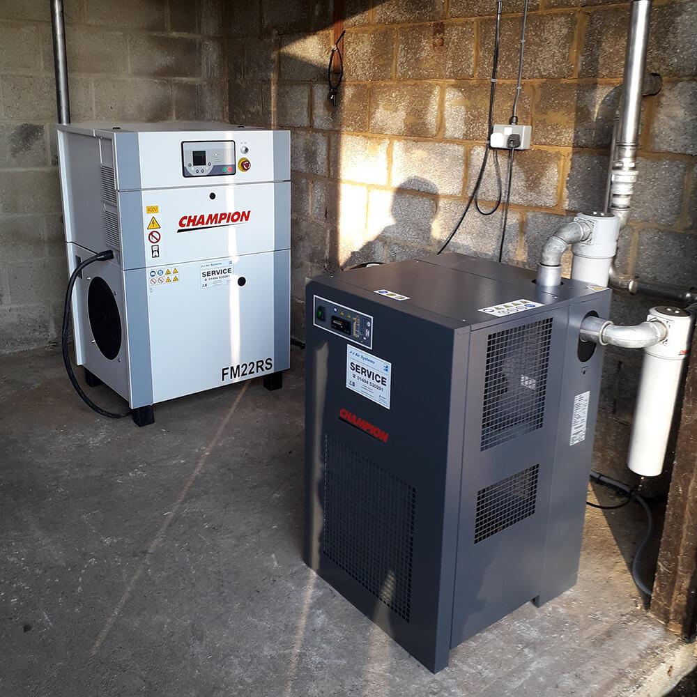 Champion FM22RS Air System Refrigerant