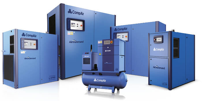 CompAir Oil Lubricated Air Compressors