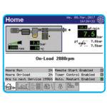 Delcos XL Air Compressor status information