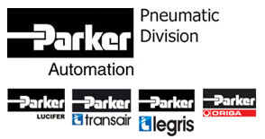 Parker Pneumatics Logos