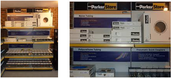 Parker Trade Counter Stock